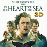In the Heart of the Sea Will Arrive on Blu-ray 3D Combo Pack, Blu-ray, and DVD on March 8