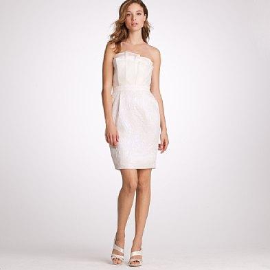 Greer loves summer picnic wedding inspiration dresses for J crew short wedding dresses