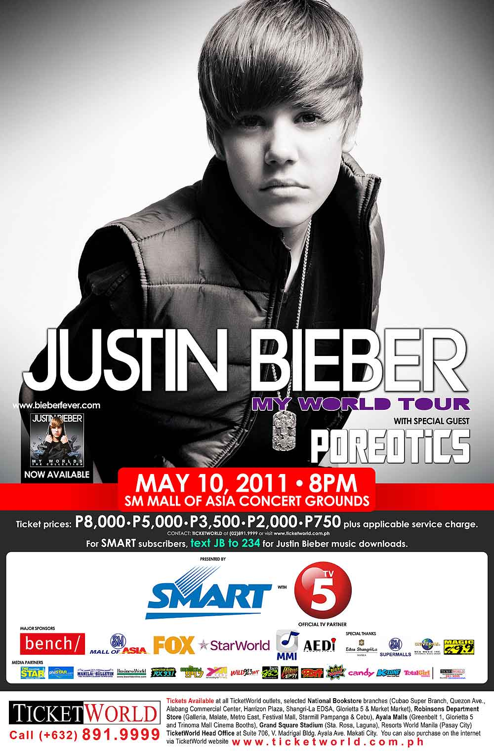 Justin Bieber Live in Manila