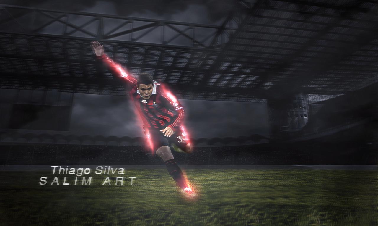 Thiago Silva AC Milan Wallpaper 2011 2
