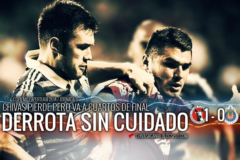 Chivas cae 1-0 con Xolos, pero avanza.