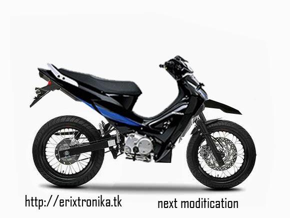 Modifikasi Honda Kharisma Monoshock Terbaru