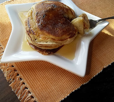 Sour Cream Raisin #Pancakes #breakfast frugalanticsrecipes.com