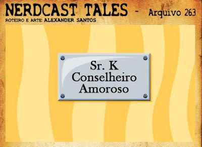 Tirinha Nerdcast Tales