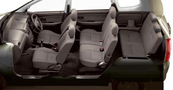 Nissan Evalia MPV Key Features