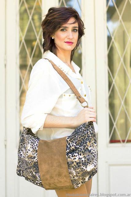 Veronica de Martini carteras, bolsos, sobres invierno 2013.