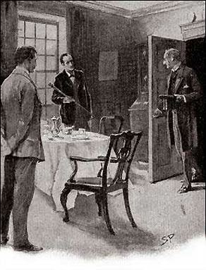 What does Dr. James Mortimer, the man of science, ask of Sherlock Holmes, the specialist in crime?