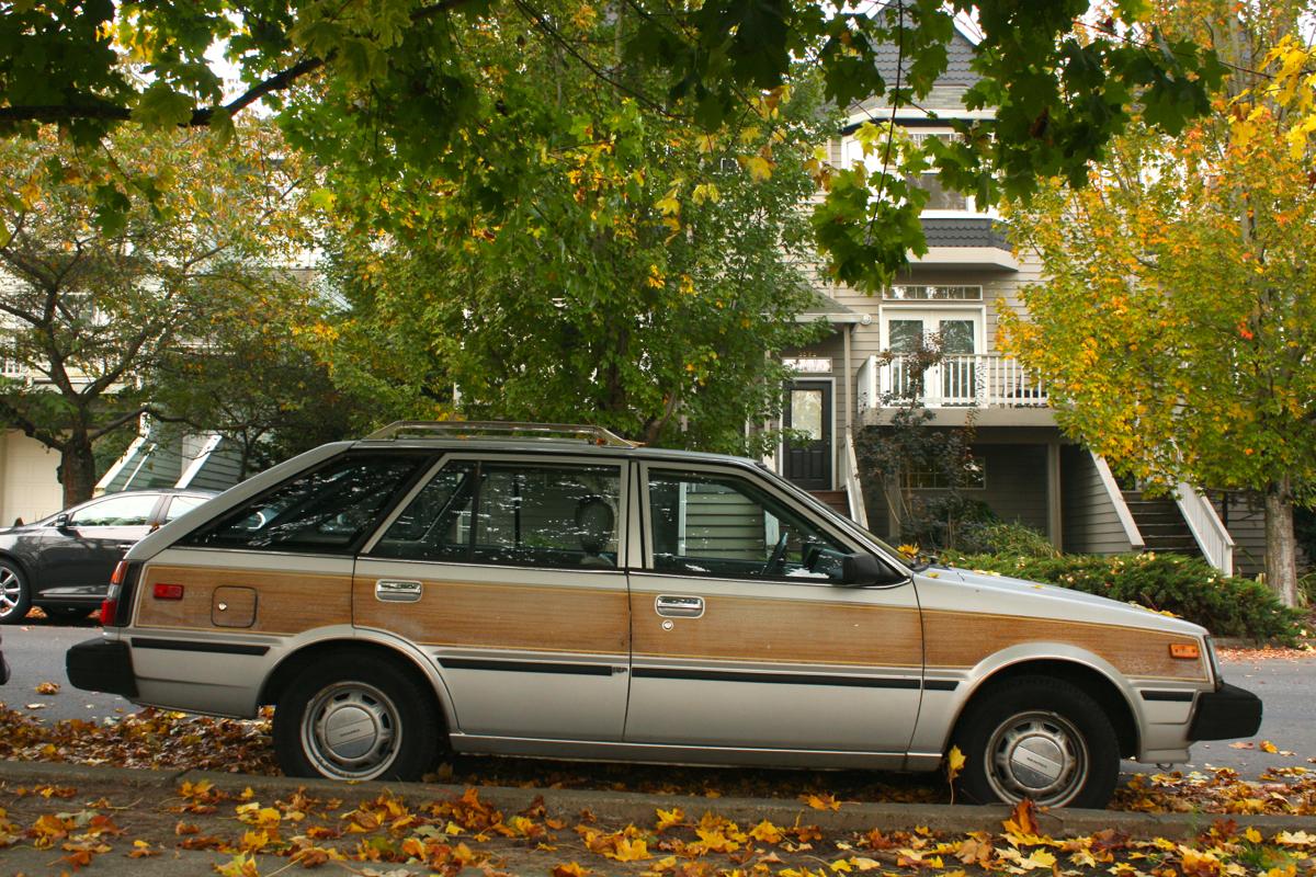 1983 Datsun Nissan Sentra wagon.