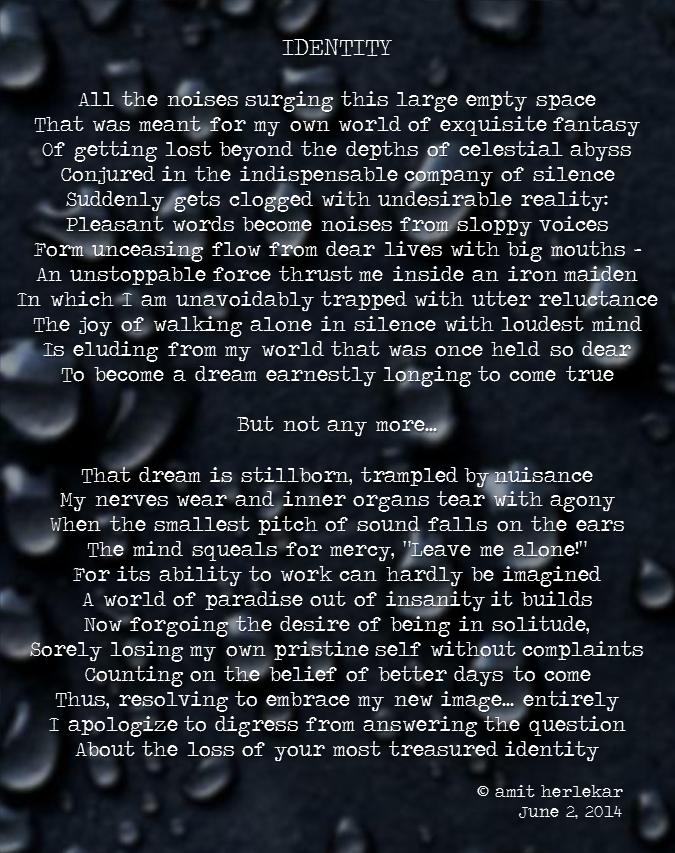 Poem: Identity