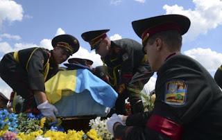 Hogyan halnak meg az ukrán katonák