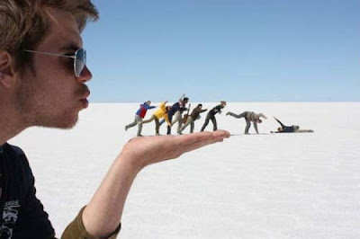Super Cool Pictures Of Forced Perspective Seen On www.coolpicturegallery.us