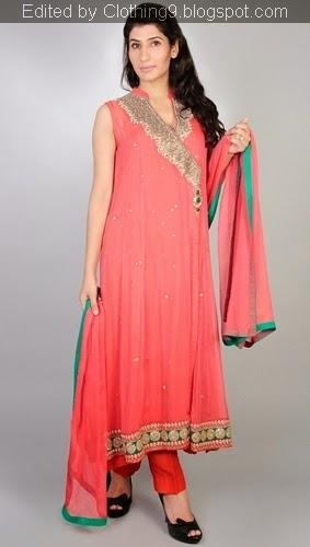 Readymade fancy Pink Angrakha Dress
