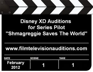 Disney Auditions Shmagreggie Saves The World