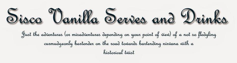 Sisco Vanilla Serves and Drinks