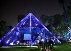 Toldo Piramide