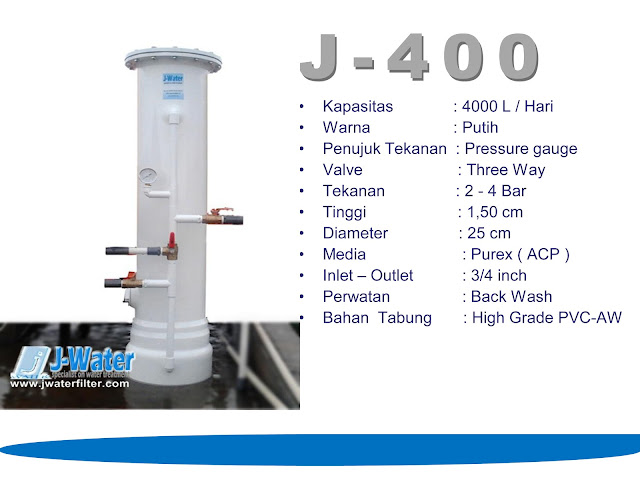 Filter Air Rumah Tangga J-400