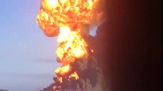 Explosion dans le Dakota du Nord d'un train de pétrole semblable à Lac Mégantic