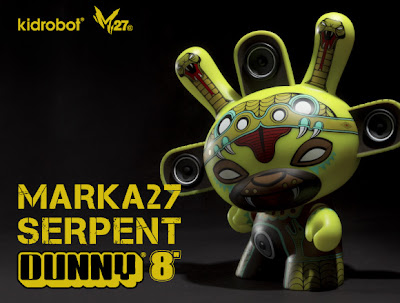 Kidrobot - Shadow Serpent 8 Inch Dunny by Marka27