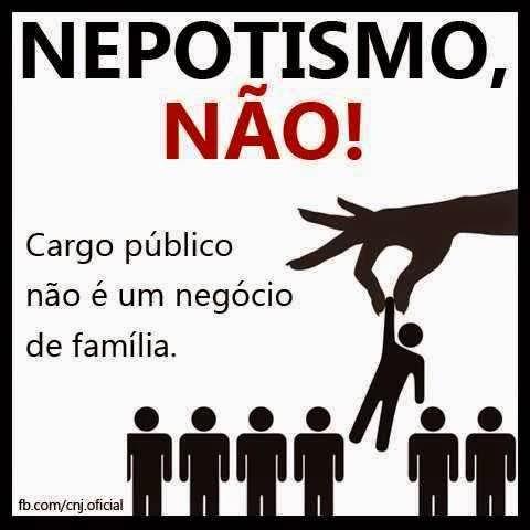 nepotismo corrupção