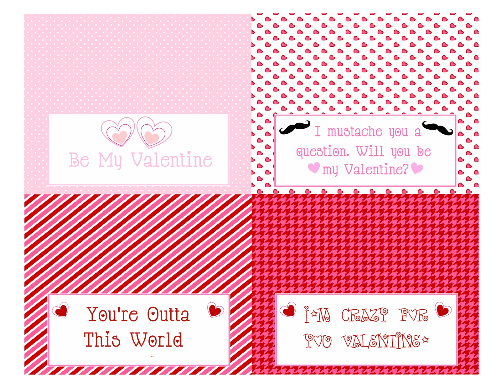 photograph regarding Free Printable Bag Toppers Templates known as S N Prepare: Valentines Deal with bag topper (No cost printables)