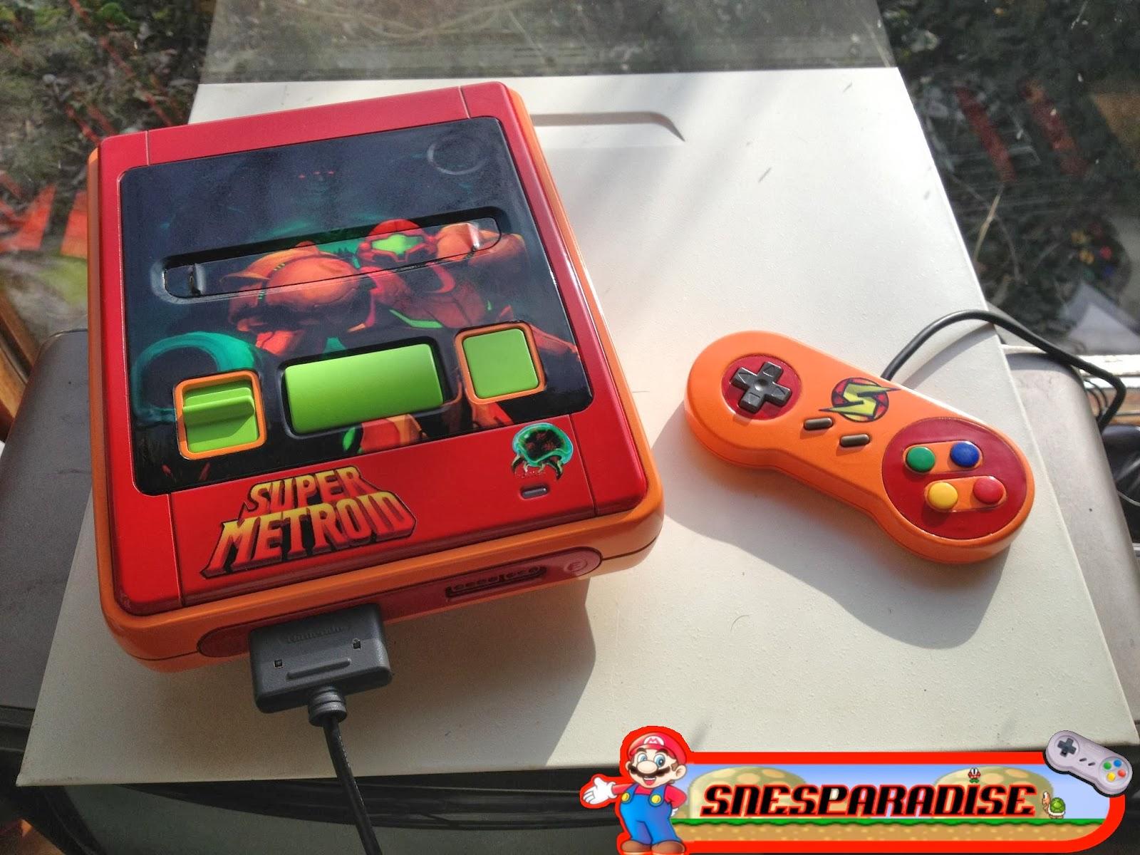 Super Nintendo personalizado (2)