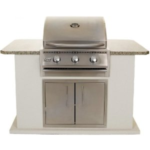 Rcs Junior 26 Inch Propane Gas Grill With Bbq Island