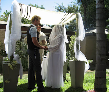 Hebraic/Messianic wedding under the Chuppah