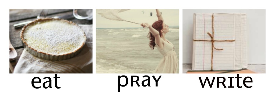 Eat Pray Write {writer's blog}