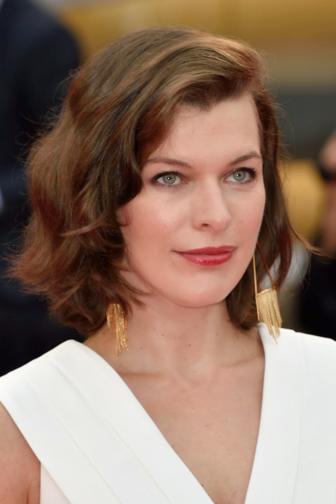 Milla Jovovich at 'Cymbeline' Premiere during 71st Venice Film Festival