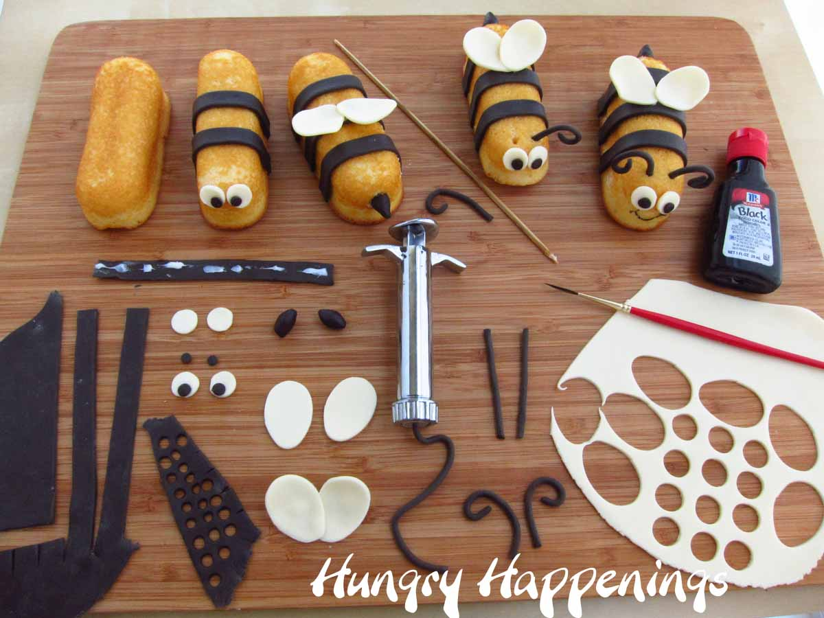 Craft bumble bee - Bumble Bee Craft Supplies Craft Bumble Bees Snack Cake Stingers Hostess Twinkie Bumble Bee Treats