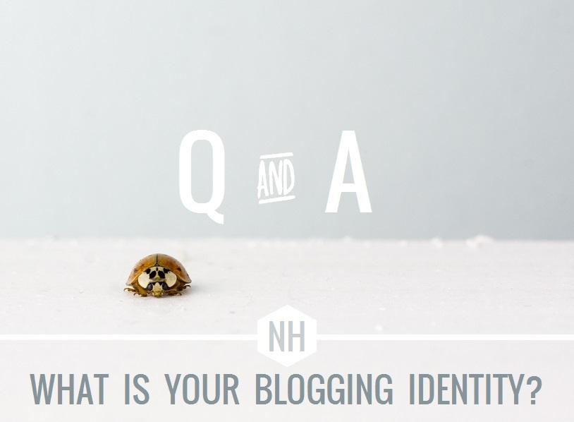 blogging identity crisis