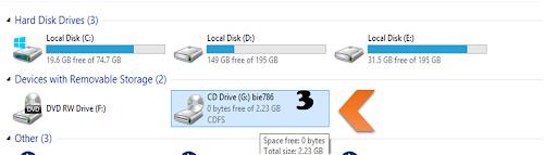 Mount CD DVD Image Virtually On Virtual Drive - Windows8