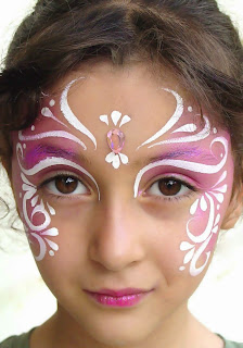 Butterlfly Face Painting