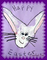 Hand and Footprint Easter Bunny Kid's Craft