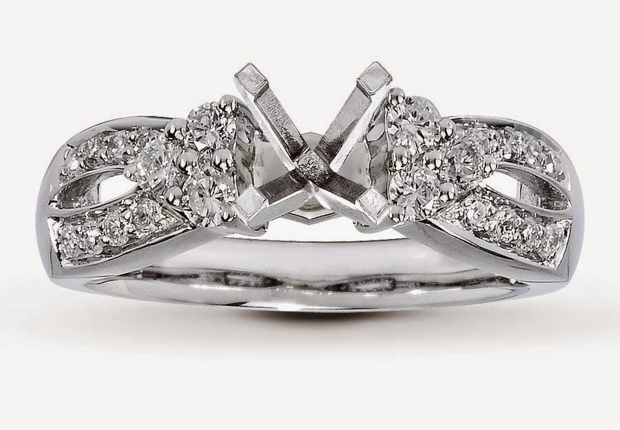 Unique Wedding Rings Settings Without Center Diamond pictures hd