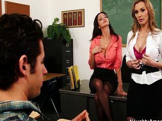 Busty sexy teachers