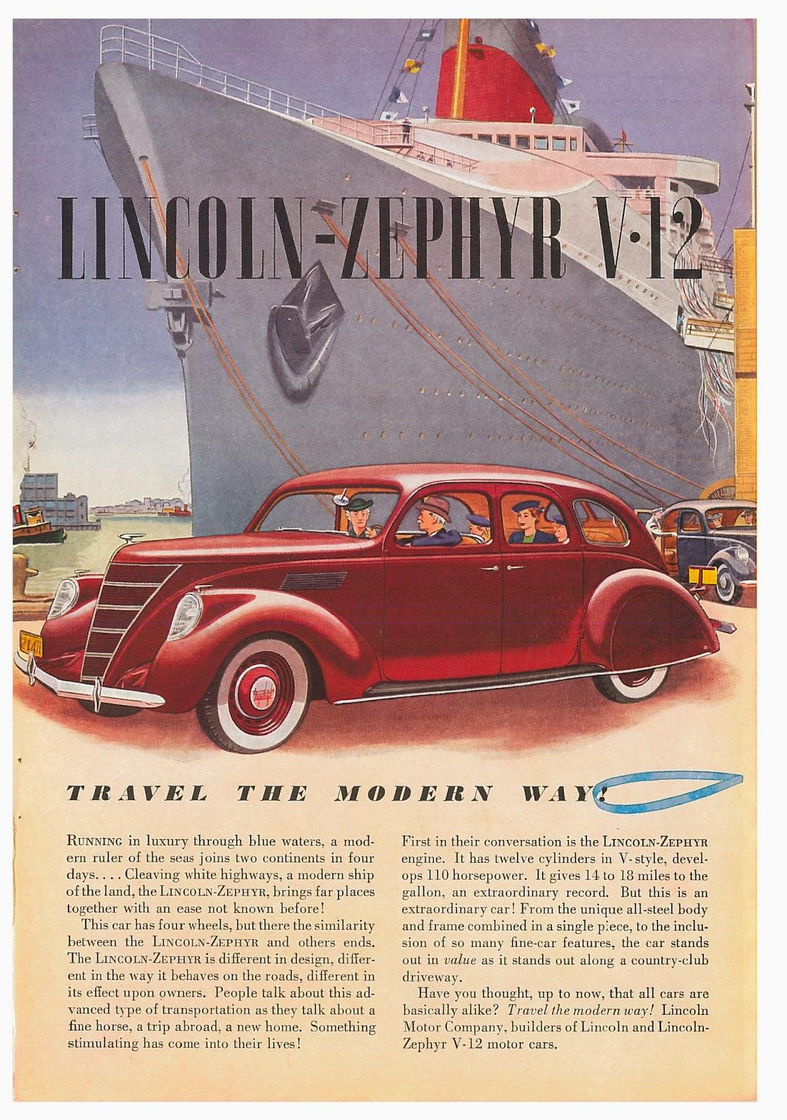 Sep auto ads lincoln motor company for Lincoln motor car company