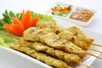 Satay Malaysia with Spicy Peanut Sauce