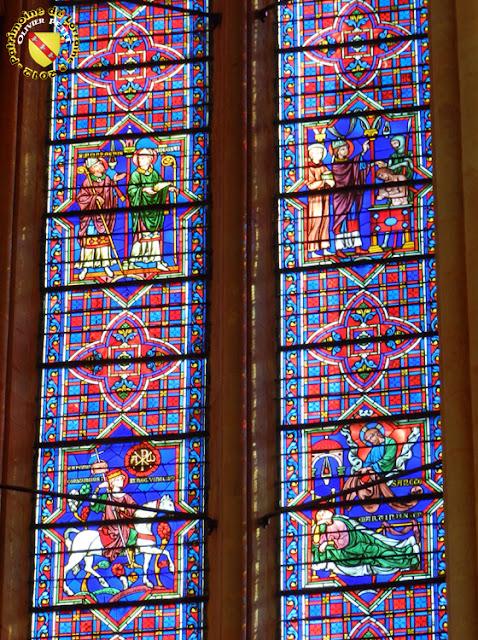 TOUL (54) - Les vitraux de la cathédrale Saint-Etienne