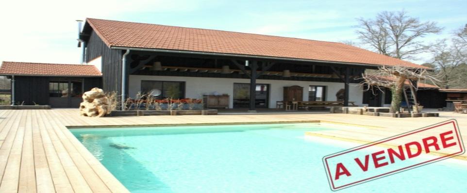A vendre grange bassin d 39 arcachon maison sur propri t - Maison bassin d arcachon a vendre paris ...