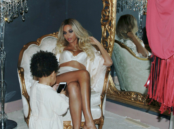 Beyonce and Blue Ivy's Halloween night out