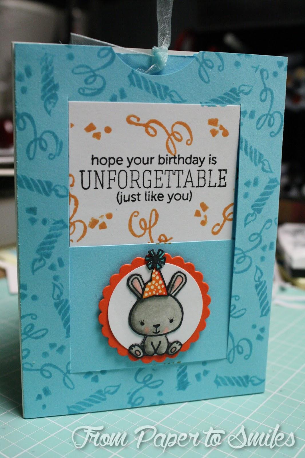 Messy Mondays Window Slider Birthday Cards – Interactive Birthday Cards