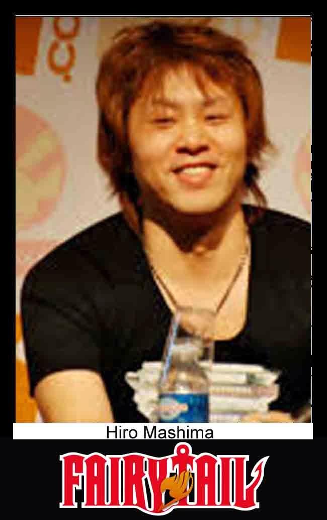 foto Hiro Mashima pengarang manga Fairy Tail