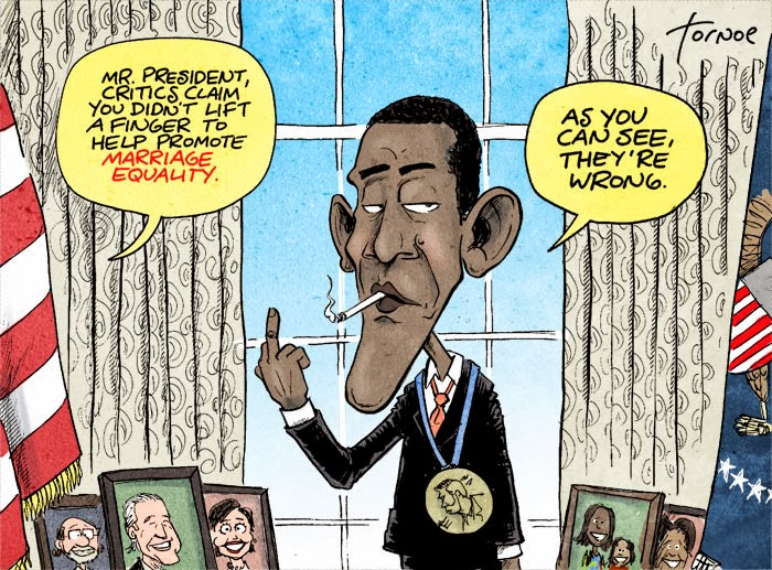 Obama and gay and rights