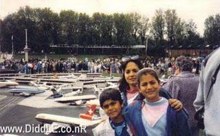 Amisha Patel Childhood Pictures