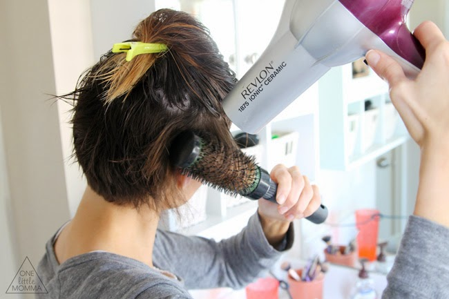 How To Blow Dry Short Stacked Hair Hairstylegalleries Com