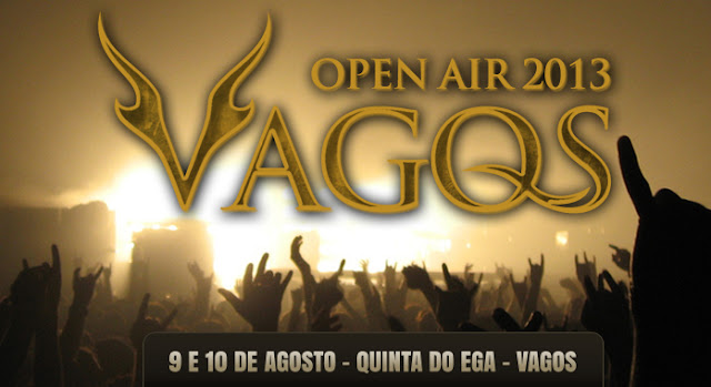 Vagos Open Air 2013. Aveiro. Heavy