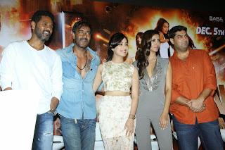 Yami Gautam and Manasvi Mamgai Pictures at Action Jackson Trailer Launch  47