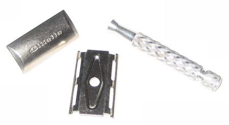 Rasoir Gillette Tech 1972 trois pièces