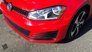 2015 VW GTI frascia